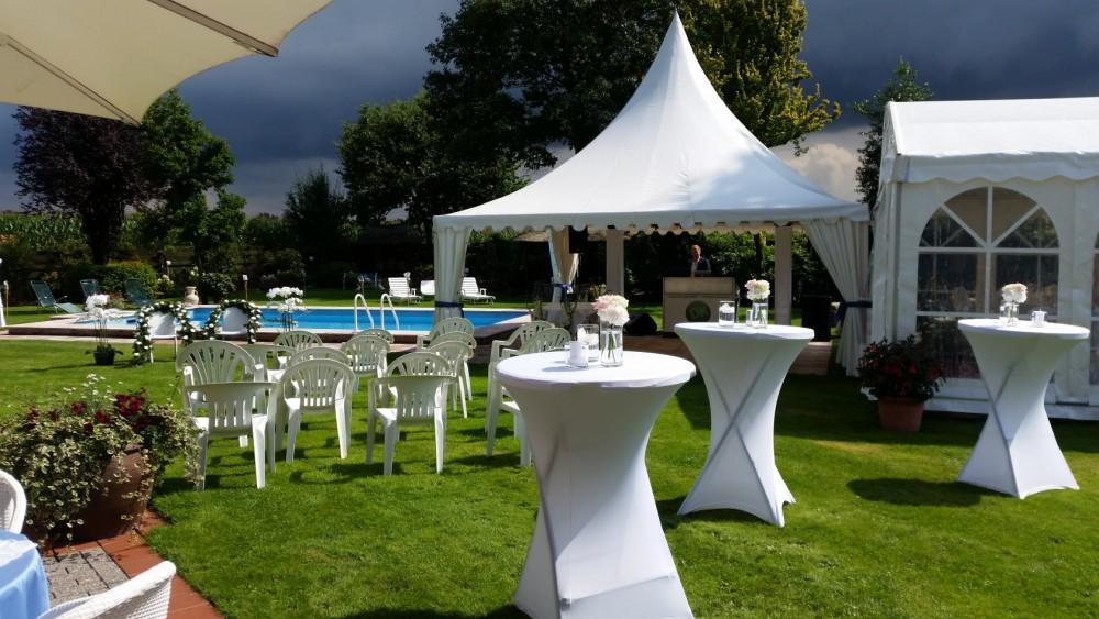 Hochzeit im Freien, Catering, Gastronomie Nordhorn,