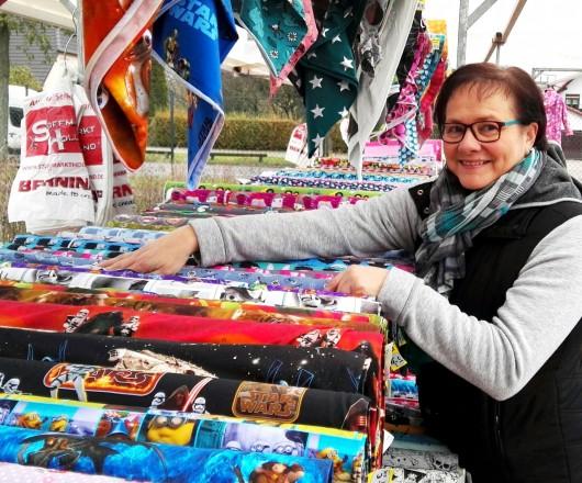 Stoffmarkt Holland Der Stoff-Spezialist, Frau Meyerink