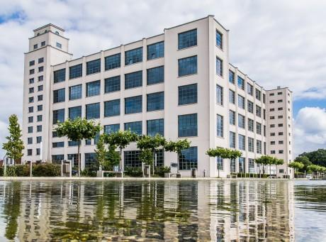 Das Nino Gebäude aus Nordhorn symbolisiert die regionale Wirtschaft