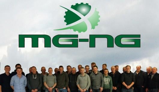 Logo van de Maschinengemeinschaft Niedergrafschaft