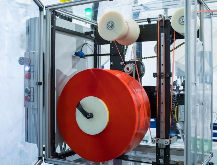 Trennpapierspender Maschine