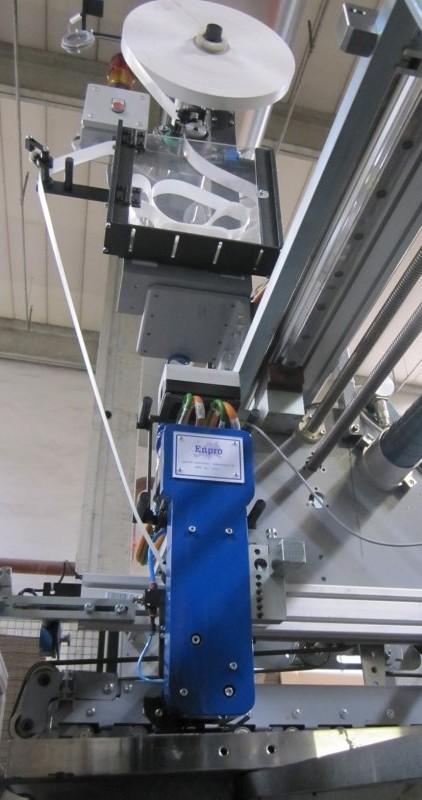 Silikonbandaufleger Maschine