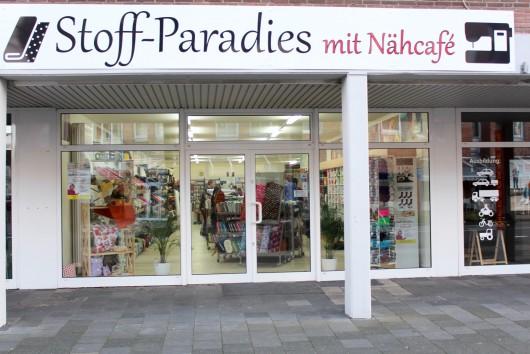 Stoff-Paradies Lingen, Stoff Paradies Nähcafe, Modestoffe Meyerink