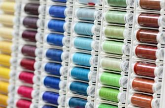 nähzubehör in mehreren farben, wolle, stoffparadies, stoff paradies