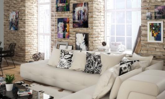 sofa, couch, tische, kissen, bilder, lingen, emsland, möbel faber