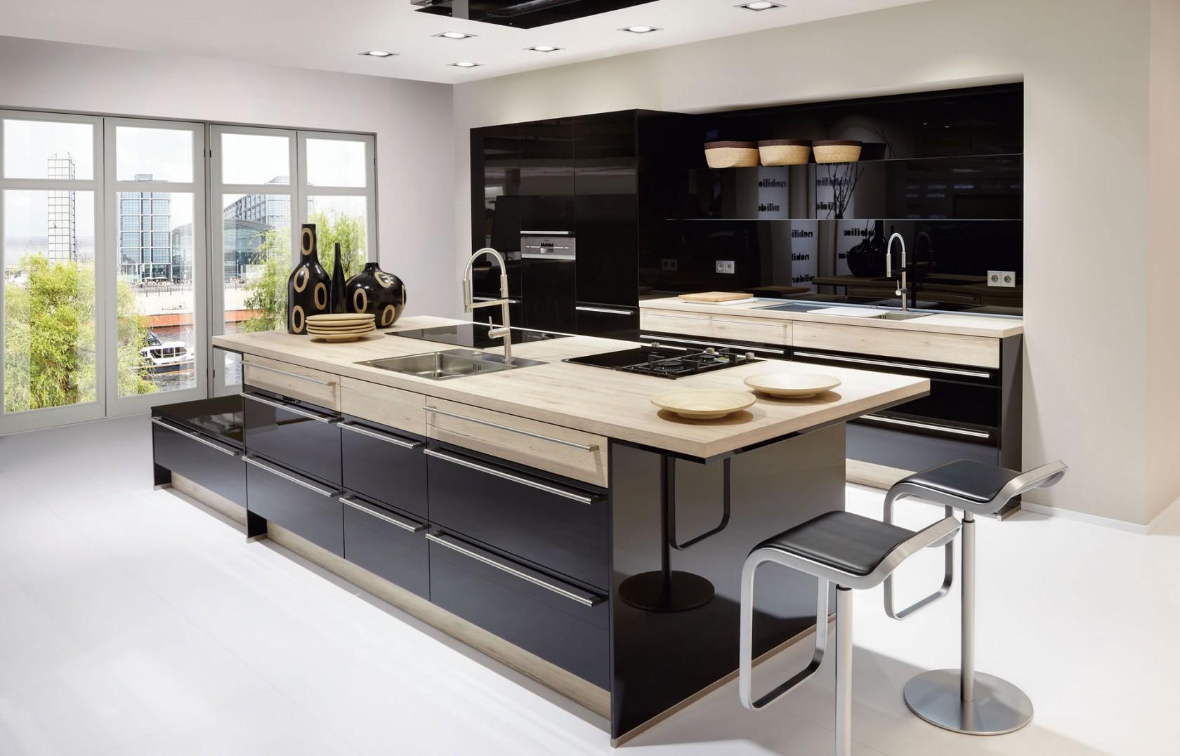 stühle, tische, teller, dunkle küche, küchen lingen, fenster, marmor