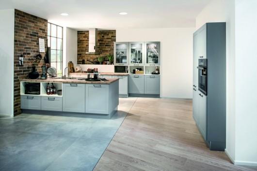 Küchenstudio in Lingen, küchen in lingen, hellblaue küche
