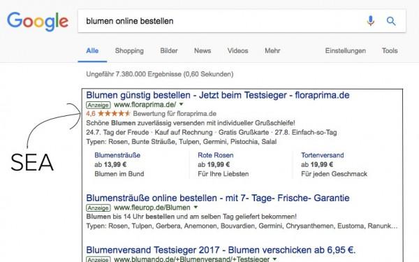 SEA: Bezahlte Suchergebnisse ranken mit Google AdWords